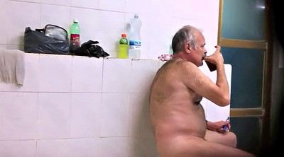 Old gay, Naked public, Perv, Gay daddy, Shower public, Public bathroom