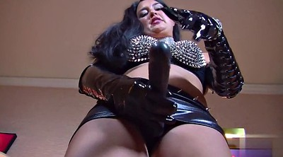 Bdsm, Leather big tits