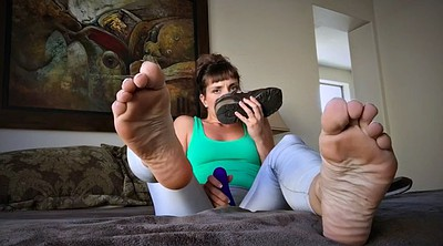 Mature feet, Smell, My milf, Feet solo