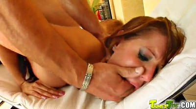 Double anal, Show, Redhead ass, Redhead anal