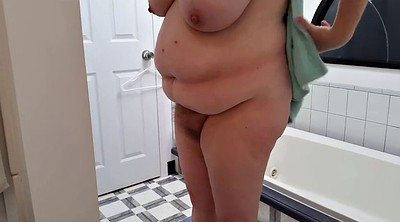 Hairy wife, Nipples hairy, Bbw shower