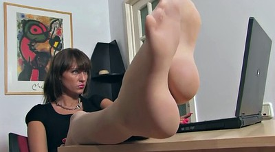 Nylon feet, Secretary, Nylon foot, Milf foot, Feet nylon