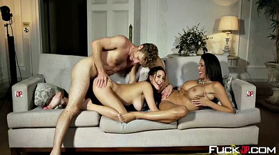 Reagan foxx, Ashley, Teen threesome, Reagan