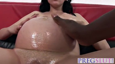 Pregnant, Big nipples, Black nipples, Pregnant fuck, Massive cock, Hard nipples