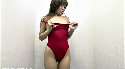 Bikini, Japanese beauty, Asian beauty, Japanese fit, Fitting room, Exposed