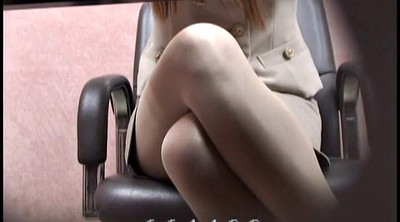 Office, Japanese office, Voyeur, Japanese cosplay, Japanese foot, Peep