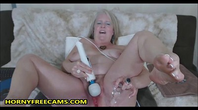 Mature dildo, Granny hairy