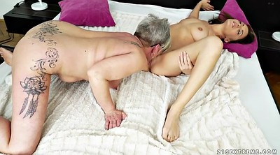 Licking, Lesbian old and young, Short hair, Bbw granny, Old and young lesbians, Old and young lesbian