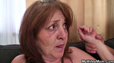 Mother in law, Big tits granny