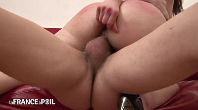 French anal, Trio, Trio anal, Anal double