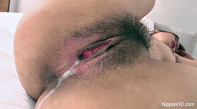 Asian, Cum in pussy, Hairy japanese, Pussy cum, Creampie in pussy