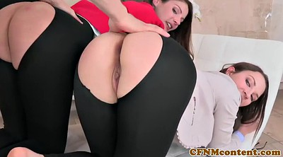 Threesome, Office threesome, Fuck from behind