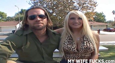Wife watch, Shoot, Porno star