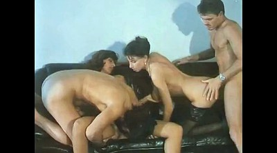 Double penetration, Vintage orgy, Foursome double