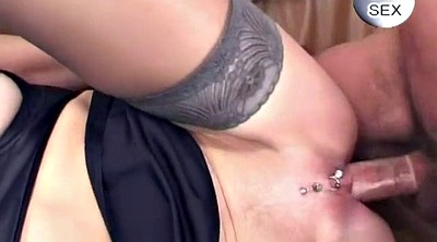 Mature facial, Mature anal sex, Granny facial