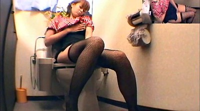 Toilet, Japanese masturbation, Naughty, Japanese toilet, Toilet voyeur, Asian girl