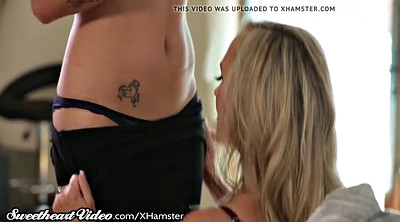 Old and young lesbian, Old and, Catfight, Brandi love