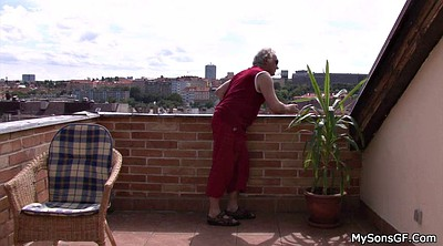 Czech, Old man teen, Old woman