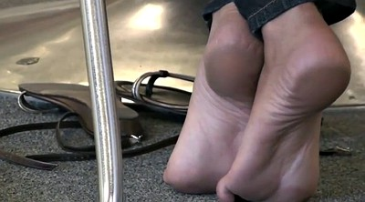 Foot, Library, Candid feet, Candid soles, Sexy soles