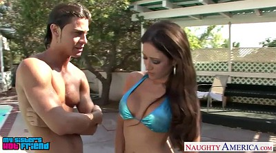 Young, Outdoor, Outdoors, Busty young, Capri cavanni, Young busty