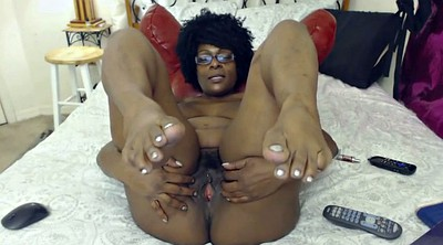 Feet, Ebony feet