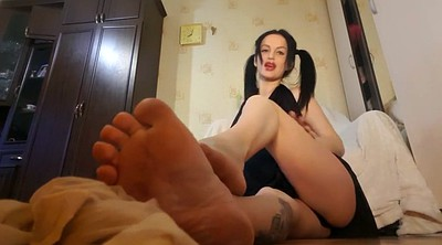 Hot amateur, Lick feet