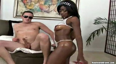 Interracial, Wet pussy