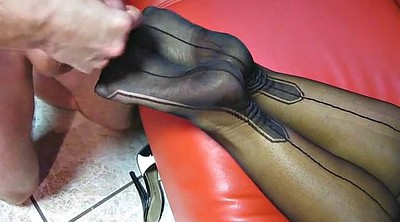 Nylon feet, Mature feet, Feet nylon