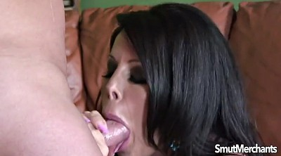 Mouth fuck, Cum in her mouth