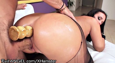 Huge ass, Double anal, Roxy raye