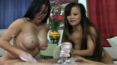 Massage handjob, Asian massage