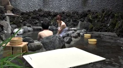 Japanese creampie, Spa, Japanese tits