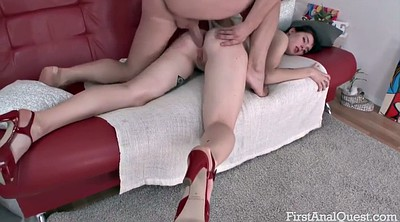 Teen anal, Anal granny, Teen and old