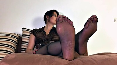 Mother, Polish, Nylons, Nylon feet, Feet nylon, Cum on nylon feet