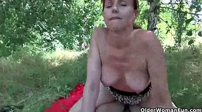 Old, Old mom, Mature outdoor