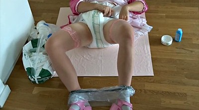 Maid, Change, Maids, Diaper, Changing, Sissy bdsm