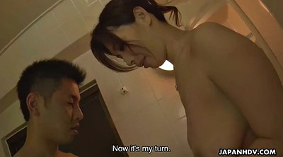 Hairy, Japanese handjob