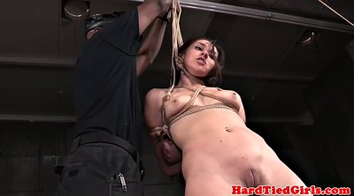 Tied up, Rubbing pussy