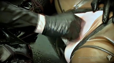 Bondage, Slave, Rough, Latex fetish, Latex bdsm, Blowjobs