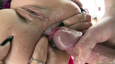 Prolapse, Gape prolapse, Anal prolapse, Closeup, Anal granny, Years old