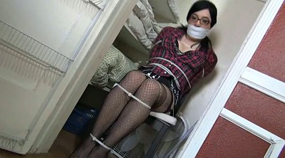 Crossdresser, Tied, Crossdress, Crossdresser bondage