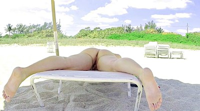 Public flash, Voyeur beach, Public beach