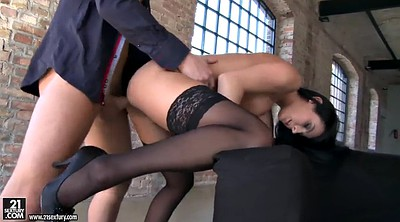 Beauty anal, Stocking anal, Riding stockings