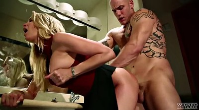 Titty fuck, Bathroom