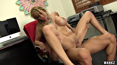 Boss, Alyssa, Shaved show, Milf boss, Alyssa lynn