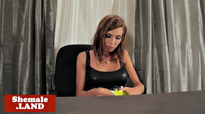 Office, Desk, Shemales, Tgirl