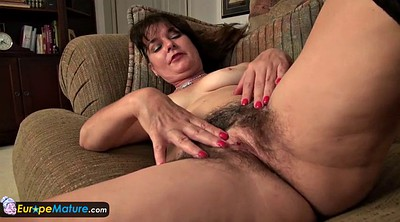 Mature older, Hairy mature