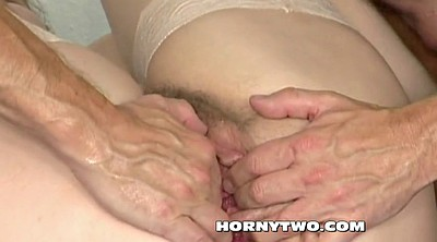 Milf anal, Hairy anal, Seduced, Anal granny, Young man, Hairy anal mature