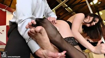 Lick foot, Chanel preston, Secretary, Face sitting