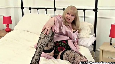 British, Stocking mature